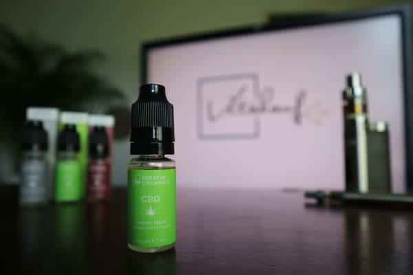 CBD-liquid test breath orcanics