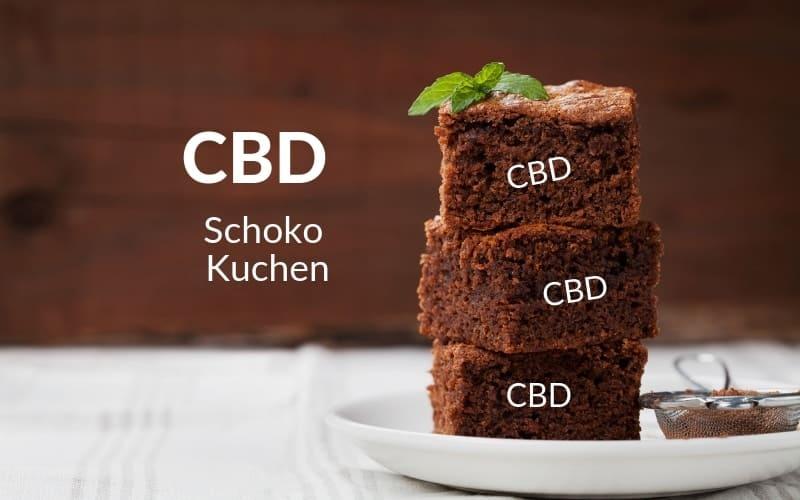 CBD-Schoko-Kuchen