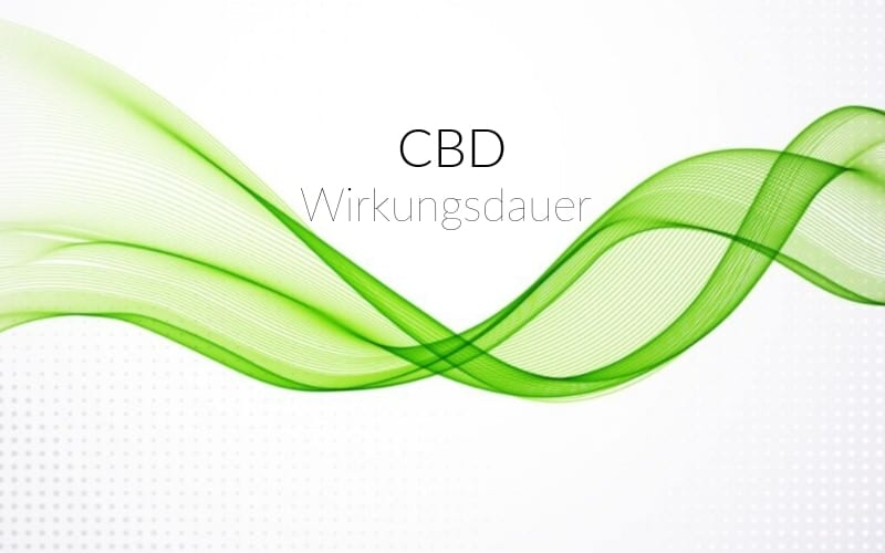 CBD-Wirkungsdauer-Öl
