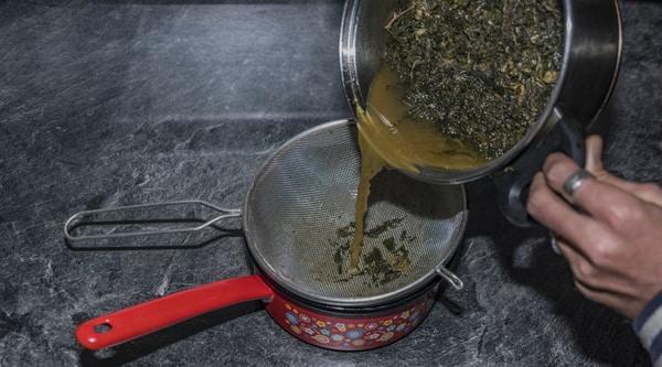 Cannabisbutter-machen