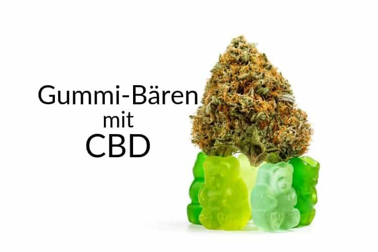 Hanfprodukte-Gummibären-CBD