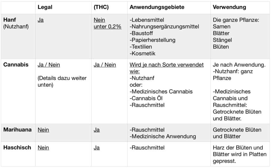 Unterschied-Marihuana-Hasch-Hanf-Cannabis